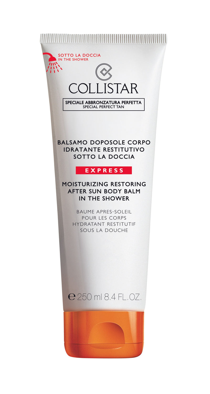 Moisturizing Restoring After Sun Body Balm in the Shower