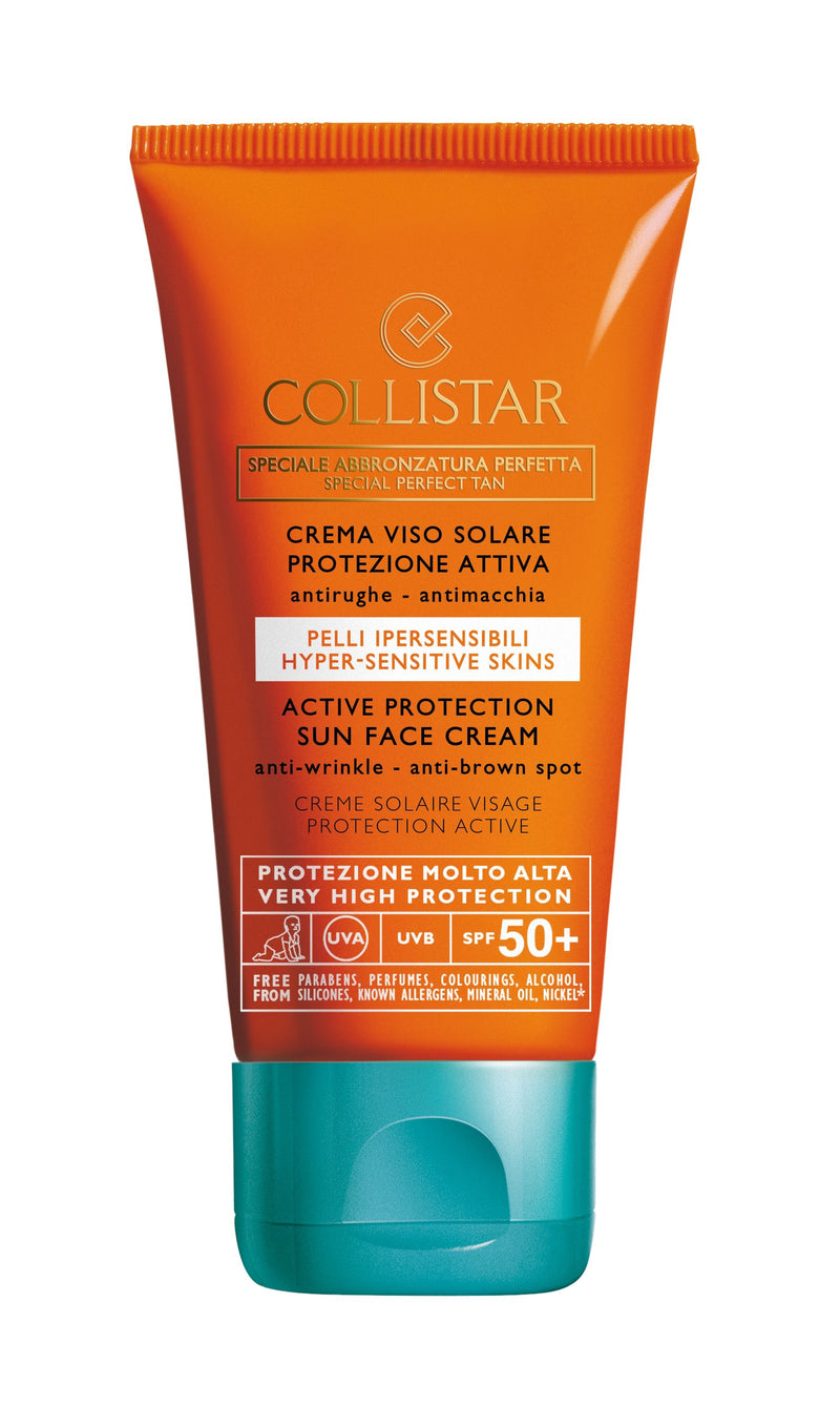 Sun Active Protection Face Cream SPF50+