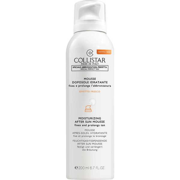 Moisturizing After-Sun Mousse