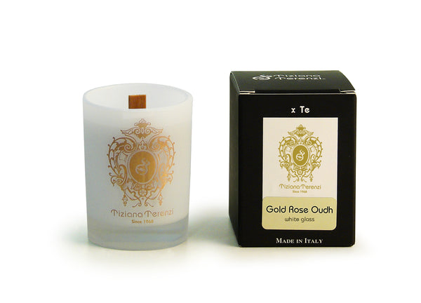 Air Therapy Candle Gold Rose Oudh