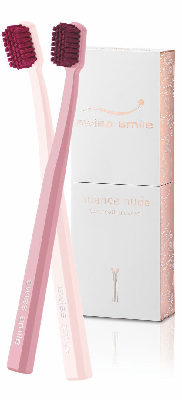 Nuance Nude 2 Toothbrushes Ultra Soft Zahnbürsten