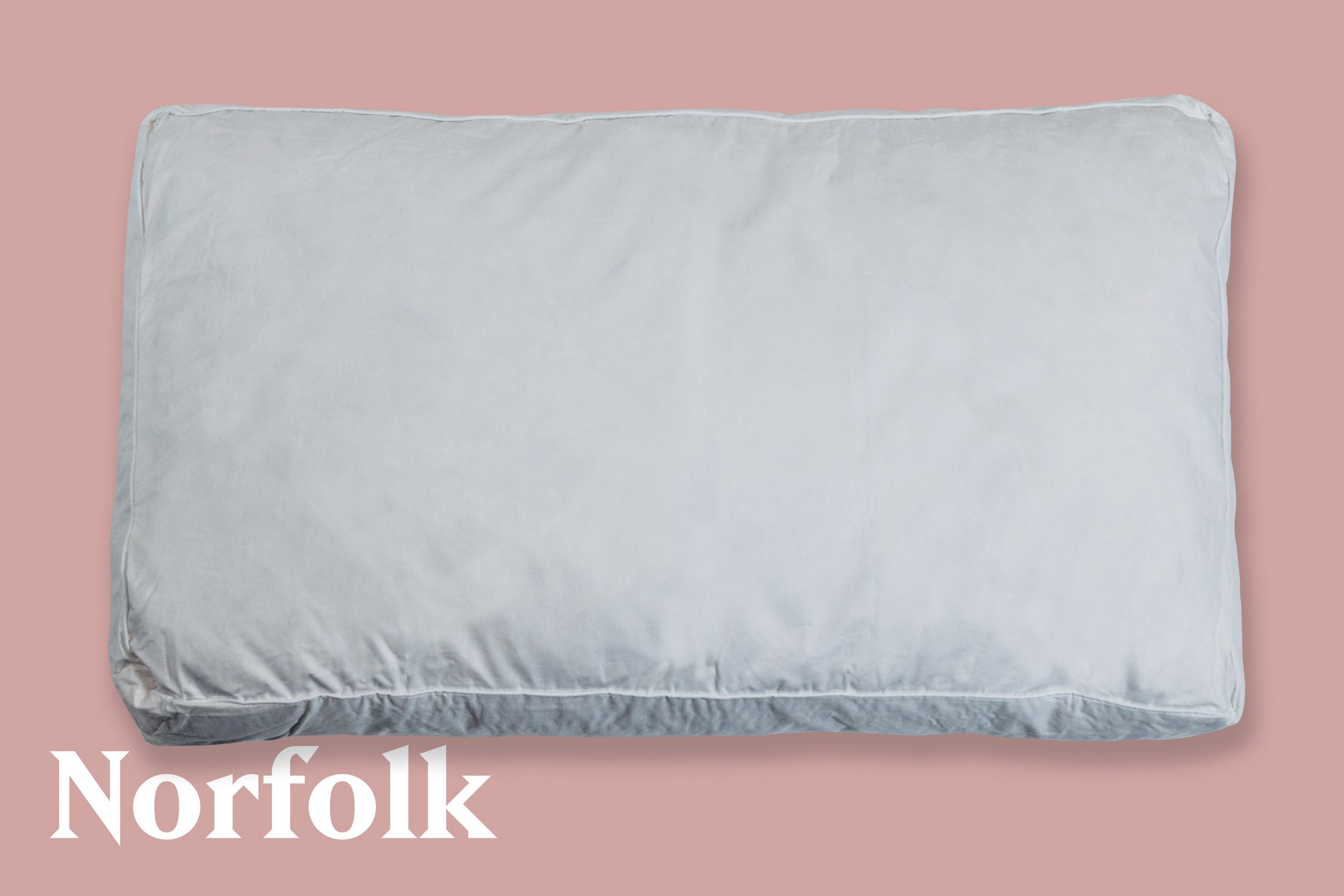 Norfolk | White Goose Feather & Down Box Pillow