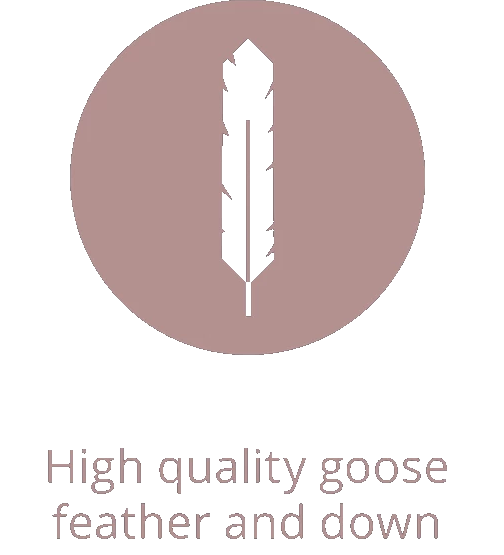 High quality goose feather and down