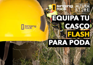 📌 Equipa tu casco FLASH, para PODA 🌴