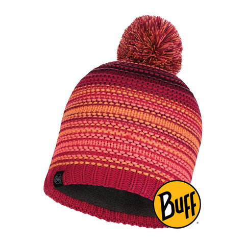 Knitted & Band Polar Hat Neper Bright Pink