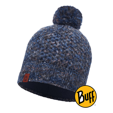 Knitted & Polar Hat Margo Blue