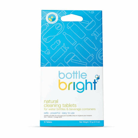 Tableta de Limpieza Bottle Bright, Pouch/12