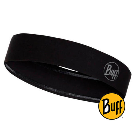 Wide Hairband R-Solid Black