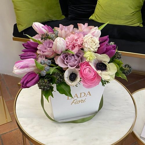 MEDIUM FLOWER BOX LADA FIORI