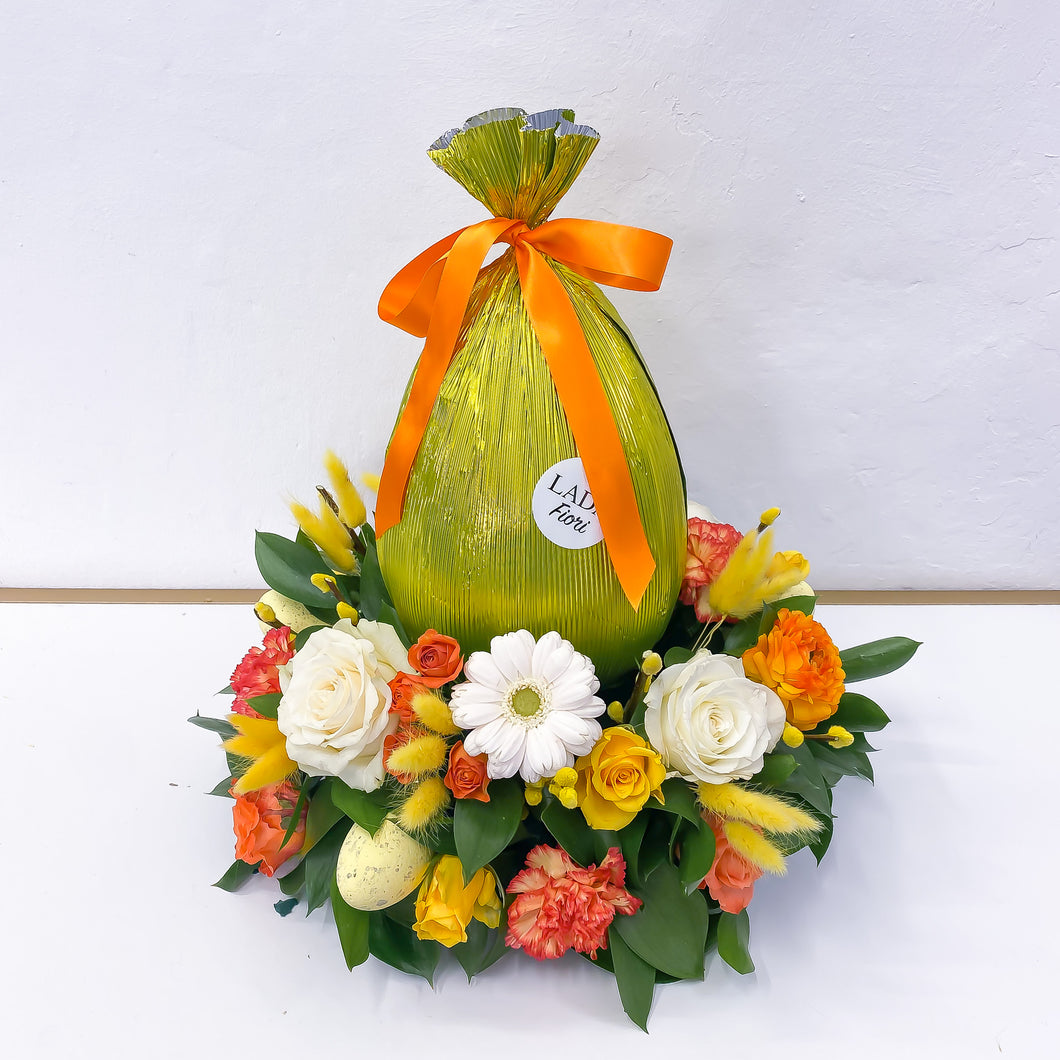 Easter Nest - Yellow Centerpiece