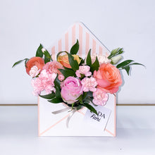 Load image into Gallery viewer, Flower Box ✉️ Peach Letter