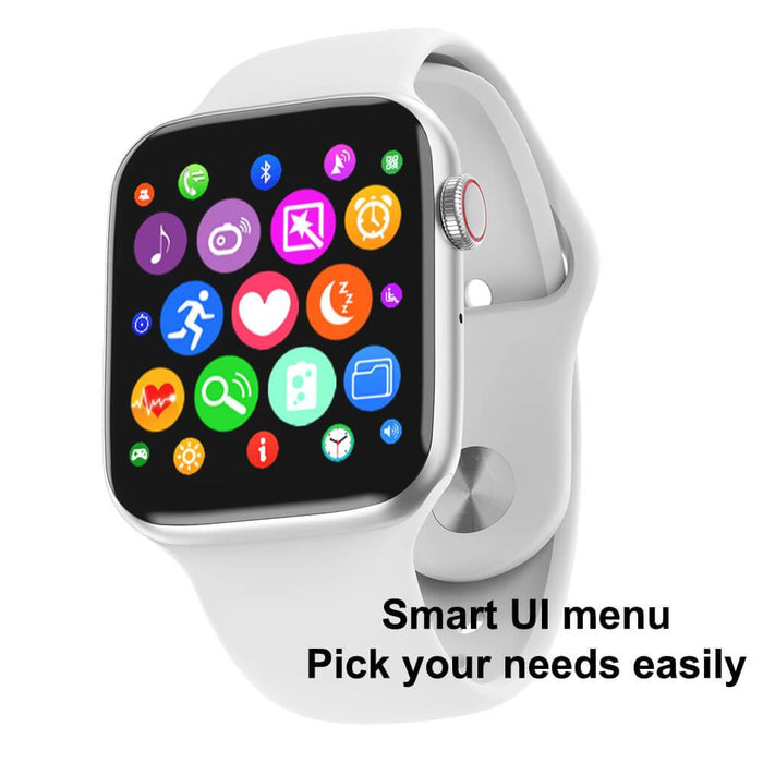 Galiseo Bluetooth Call Smart Watch Touch Screen IPS 2.5D | Aolon - aolon.id