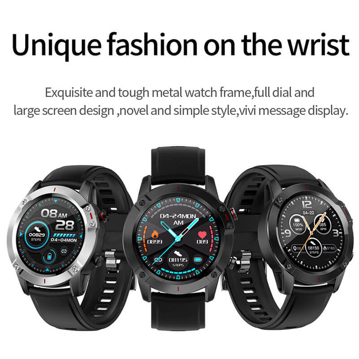 Soul GT Aolon G20 Watch 1.3 Layar Bulat Sentuhan Penuh Real-time Dynamic Heartrate