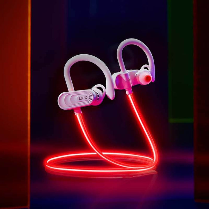 Laser Run Earphone TWS Cool Light Bluetooth 5.0 | Aolon - aolon.id