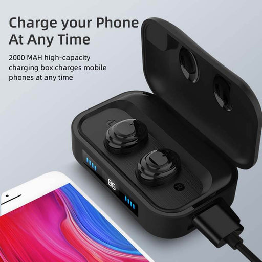 DR Sound Series 11 Charging Box TWS Bluetooth 5.0 | Aolon - aolon.id
