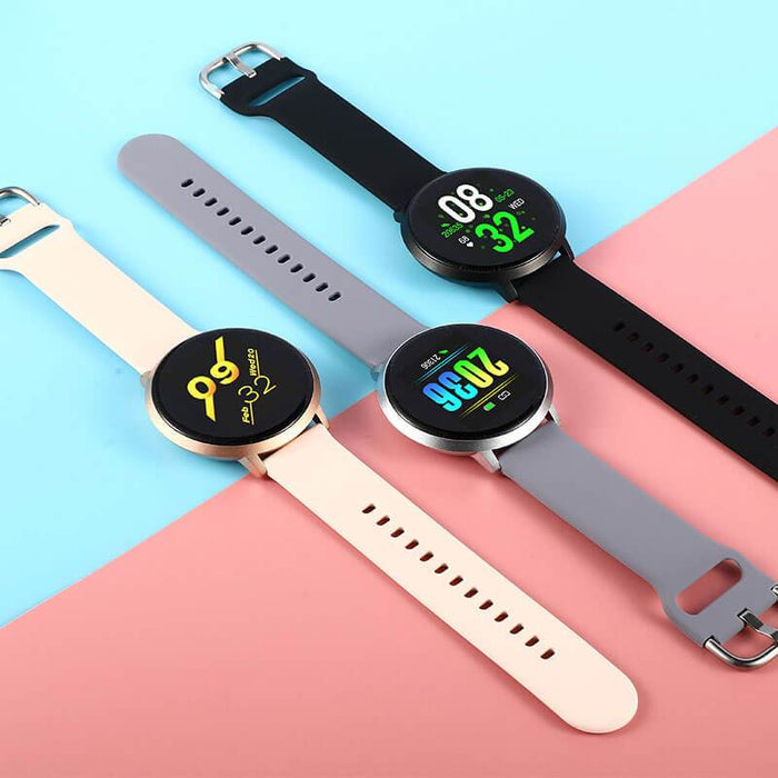 Mild Metal 12 Color Screen IP68 Fitness Tracker | Aolon - aolon.id