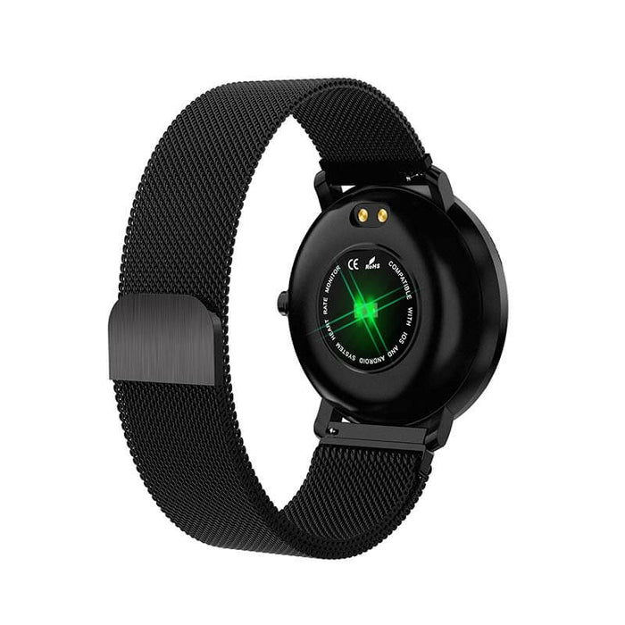 Xyno Smart Watch Full Screen IPS HD Strap Rubber dan Metal | Aolon - aolon.id