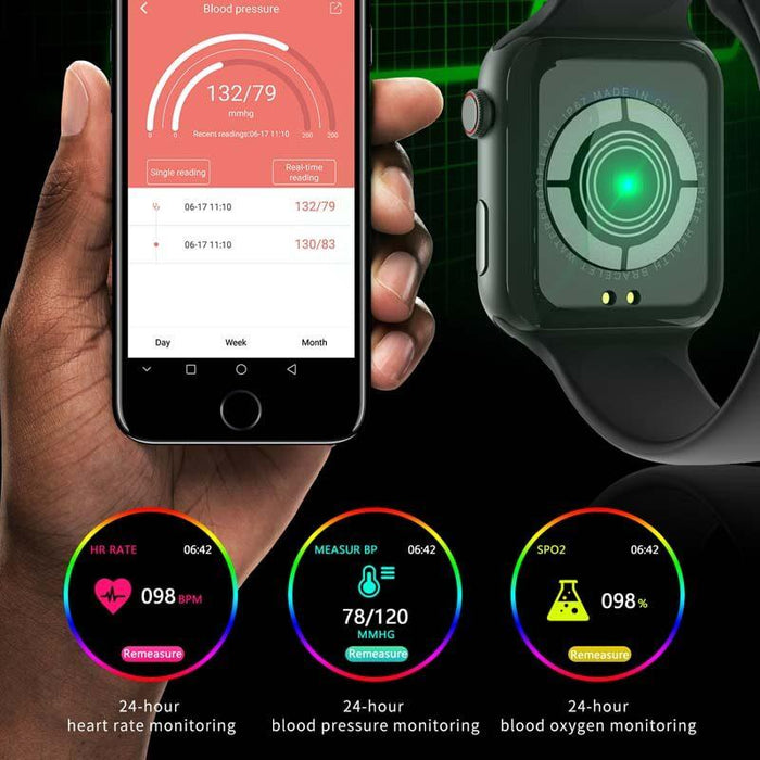 IO Fifth Smart Watch Touch Screen IPS IP67 | Aolon - aolon.id
