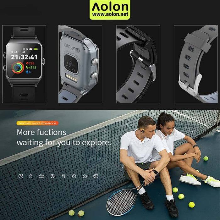 D-Spezial Smart Watch Berenang profesional 5ATM | Aolon - aolon.id