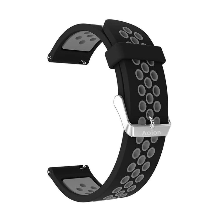 Strap Jam Silikon 22mm Sporty Aksesoris Smart Watch | Aolon - aolon.id