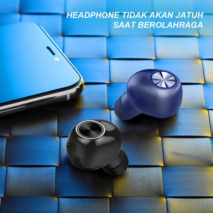 DR Sound Series 6 Earphone TWS Bluetooth 5.0 Hifi | Aolon - aolon.id
