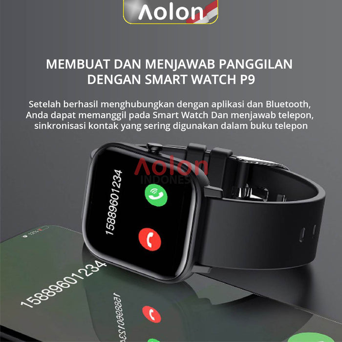 Aolon P9 Fit Life GTS Smart Watch Heart Rate Blood Pressure Detector | Aolon