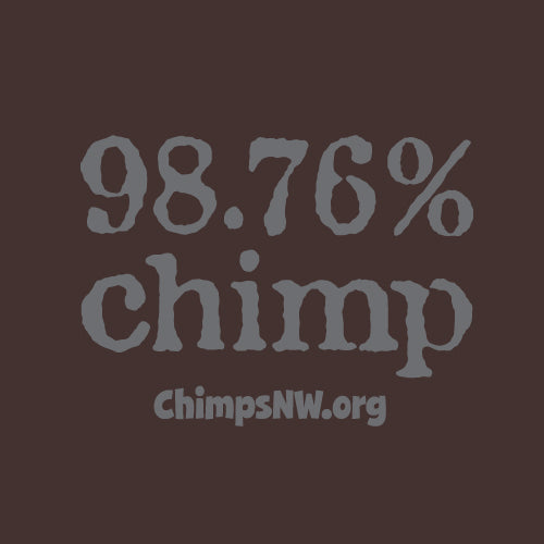 CSNW 98.76% Chimp Unisex Long Sleeve Tee