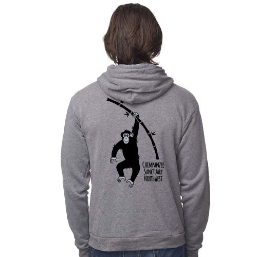 CSNW Hope Love Home Unisex Heather Ash Fleece Hoodie