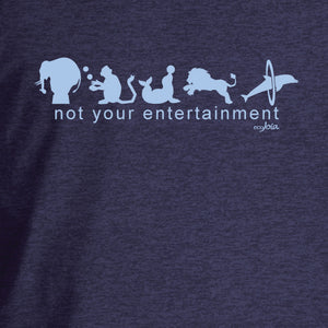 Not Your Entertainment Heather Dusk Ladies Tee