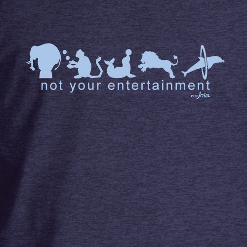 Not Your Entertainment Heather Dusk Unisex Tee