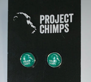 Project Chimps Logo Earrings