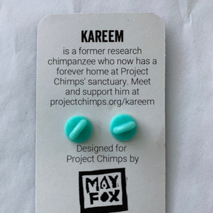 Project Chimps Kareem Pin