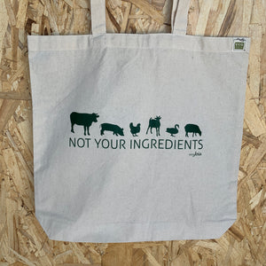 Not Your Ingredients Tote Bag
