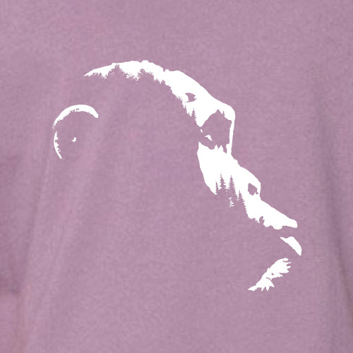 Project Chimps Logo Eggplant Youth Tee