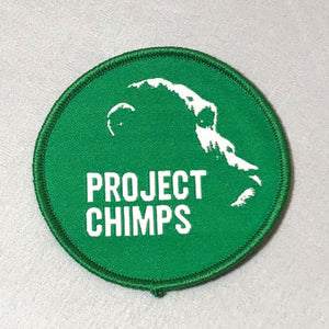 "Project Chimps Logo 2.5"" Iron On Patch"