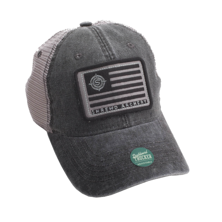 Grey Flag Hat