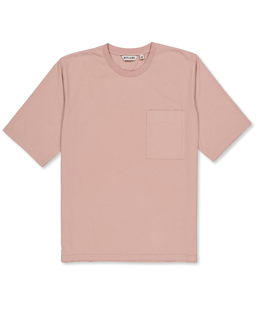 T-shirt Big T rose pâle