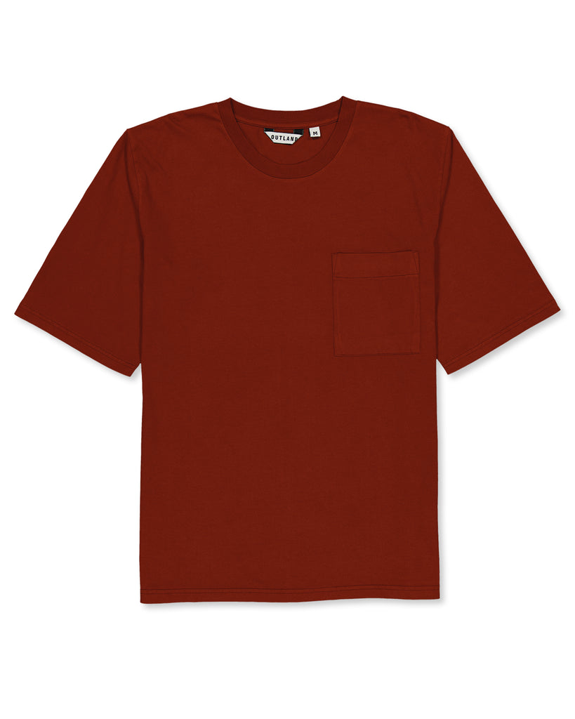 T-shirt Big T rouille