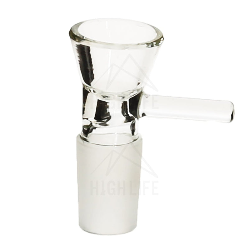19Mm Funnel Bowl With Handle - Clear Accessories