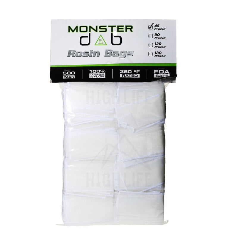 2 X 4 45 Micron Monster Dab Rosin Bag - 500 Units Extraction