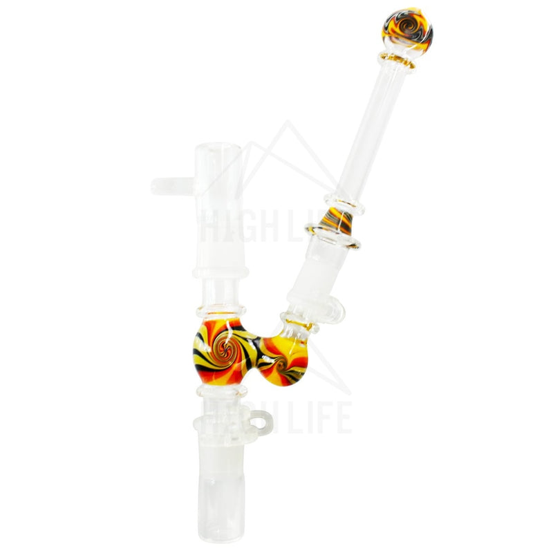 8 Nail And Dome Dry Pipe Or Attachment With Reclaim 19Mm Hand Pipes