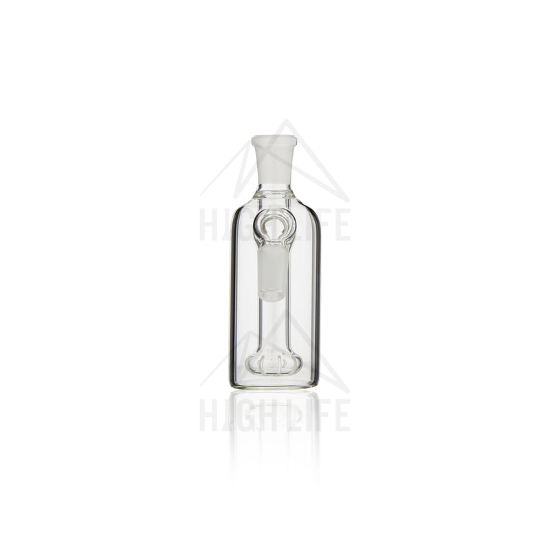 "4.5"" Showerhead Perc Ashcatcher - 45° 14mm/14mm"