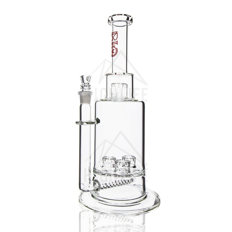 "16"" BIO Inline + Triple Updome Stemless Waterpipe"