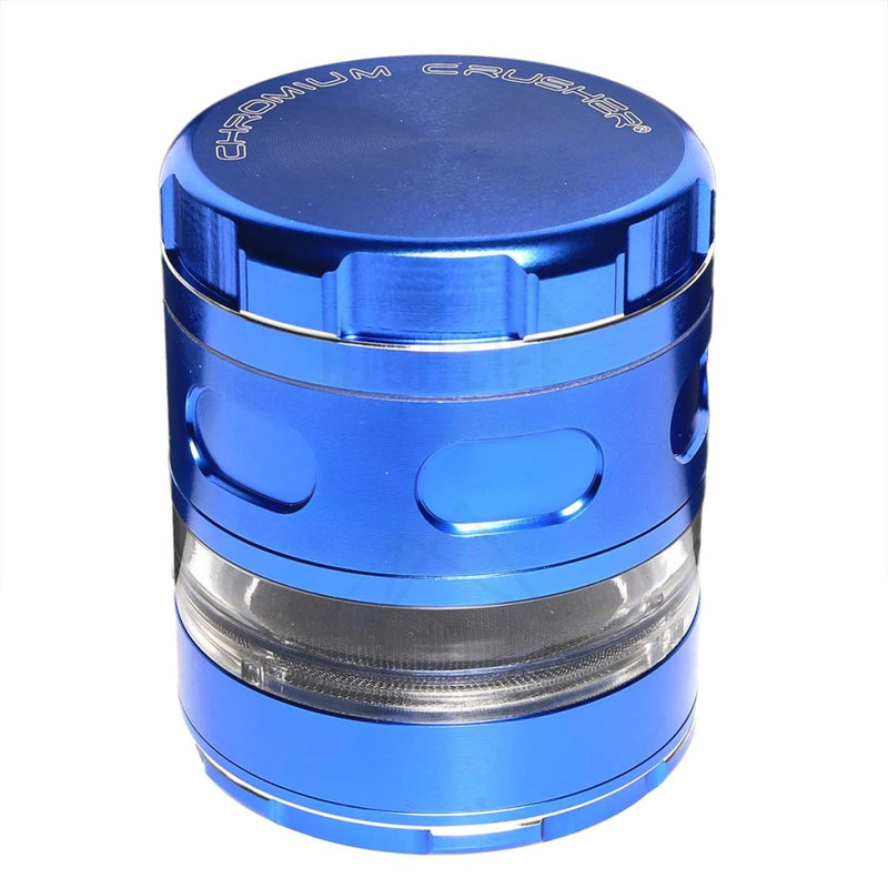 "Blue Chromium Crusher Multi Blade 2.5"" Grinder"