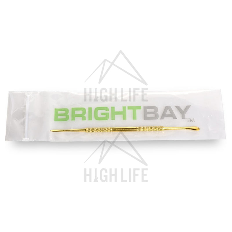 Brightbay Stainless Steel Dabber 160Mm Gold Accessories