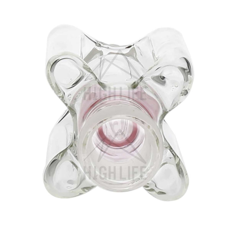 Four Handle Ash Catcher - Pink 19Mm/19Mm Accessories