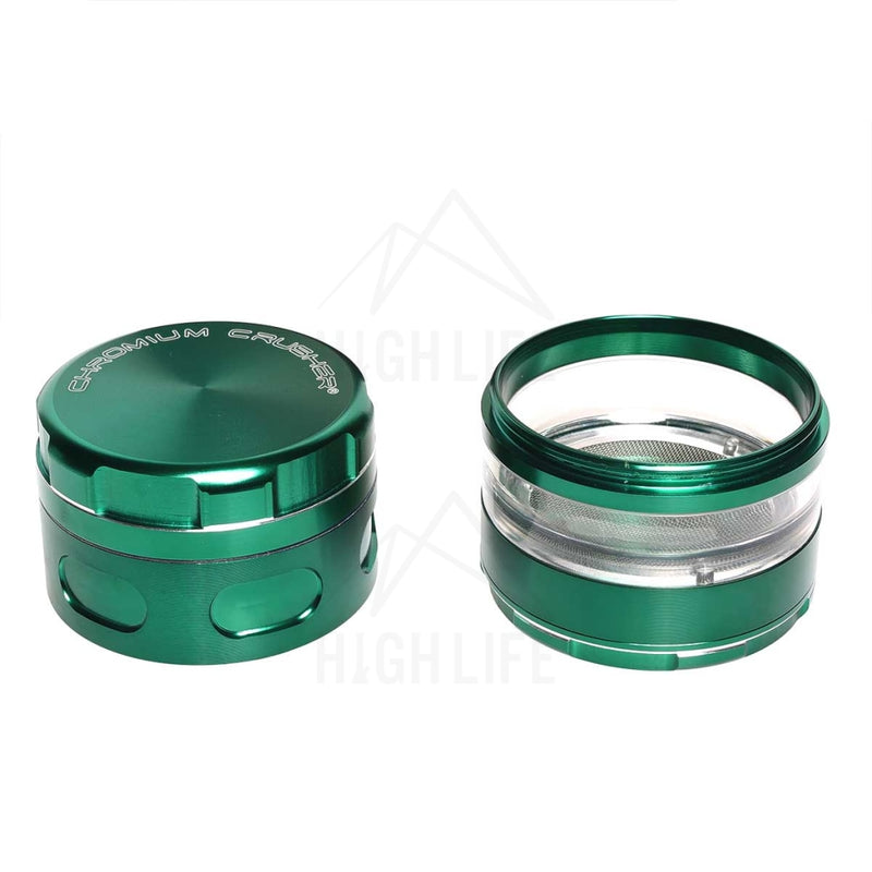 Green Chromium Crusher Multi Blade 2.5 Grinder Accessories