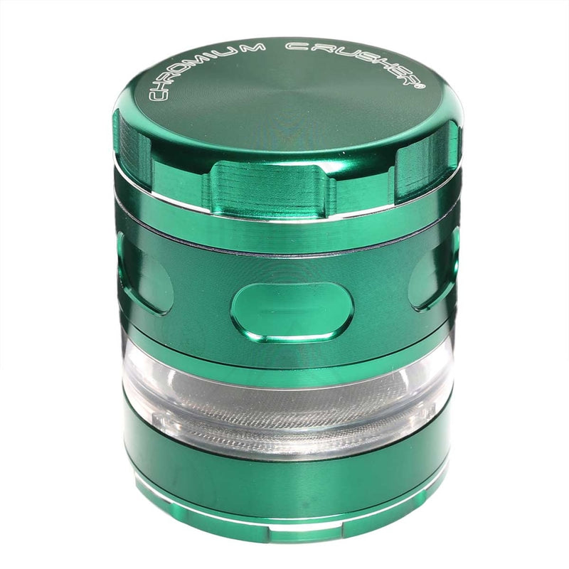 "Green Chromium Crusher Multi Blade 2.5"" Grinder"