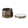 4pc Chromium Crusher Precision Grinder Gunmetal - 2 1/2""