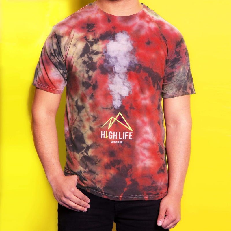 High Life Goods Volcano T-Shirt Small